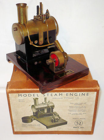 Mersey Model steam engine.
