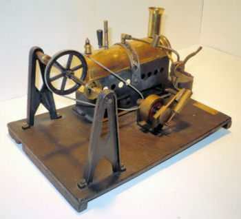 Mersey Model 53R steam engine.