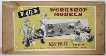 Multum Workshop toy steam models.