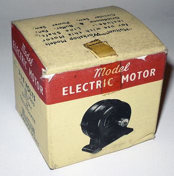 Multum electric motor box.