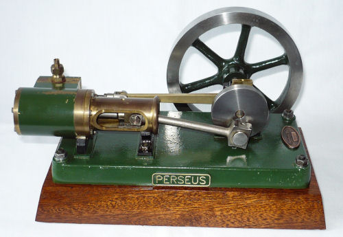 Persues model steam engine.