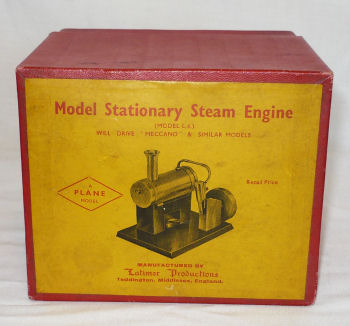 Plane steam engine box.