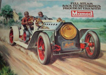 Mamod SA1 Steam Roadster advertisement.