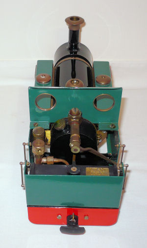 Roundhouse Millie 32mm live steam locomotive.