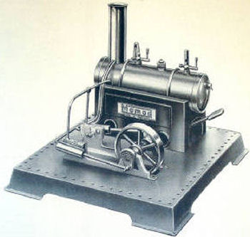 Mamod SE3 Steam Engine advertisement Circa 1957.