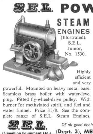 SEL 1530 Junior Steam engine.