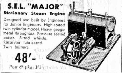 SEL 1550 Major Steam engine.