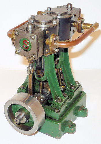 Stuart Turner D10 marine engine.