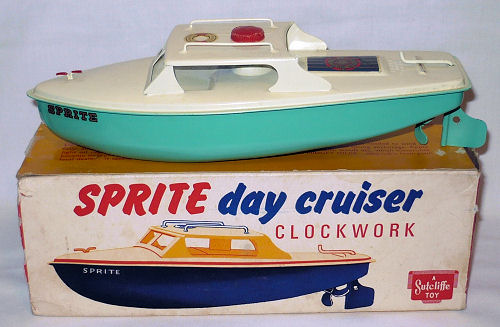 Sutcliffe Sprite day cruiser plus box.