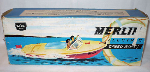 Sutcliffe Merlin Electric Speed Boat box.