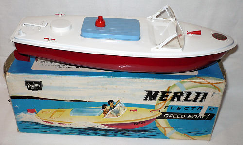 Sutcliffe Merlin Electric Speed Boat.