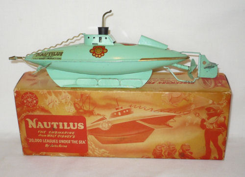 Sutcliffe Submarine The Nautilus boxed.