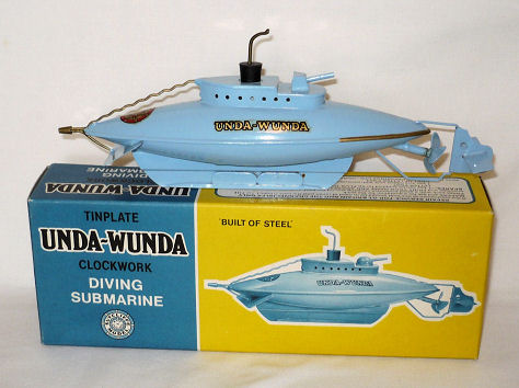 Sutcliffe Steel Submarine boxed.