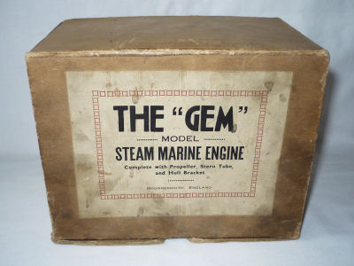 Steam Marine Engine.