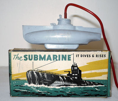 Toy Submarine.