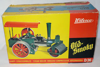 Wilesco Dampftraktor steam roller.