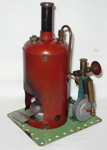 Wilson Bros steam engine Circa 1948.